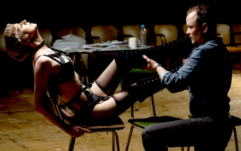 Prague Shakespeare Company's Venus in Fur with Guy Roberts and Jessica Boone